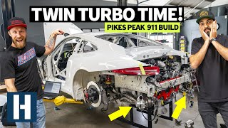 Download Crunch Time: Custom Machined 900hp Porsche GT3 Cup Car Engine Dropped in, 7 Days Left 'til Testing Video