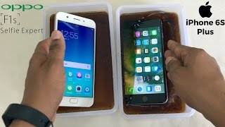 Download Oppo F1s vs iPhone 6S Plus Coca-Cola Freeze Test For 20 Hours! Video