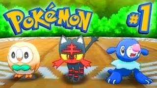 Download Pokemon SUN and MOON Episode 1 - Walkthrough Part #1 - LIVE w/ Ali-A! Video