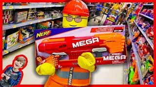 Download LEGO BOY gets a NERF GUN! + Monster Trucks in the Mud Video