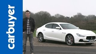Download Maserati Ghibli saloon 2014 review - Carbuyer Video