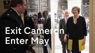 Download Theresa May becomes Prime Minister: David Cameron exits 10 Downing Street Video