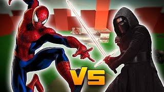 Download SPIDERMAN VS KYLO REN? - Roblox Superhero Tycoon! Video