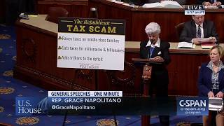 Download Rep. Napolitano Rejects GOP Tax Scam Bill Video