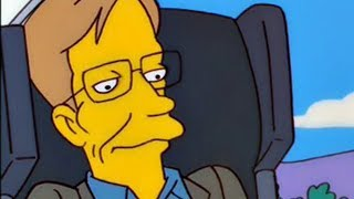 Download Stephen Hawking's One Request When He Appeared On The Simpsons Video