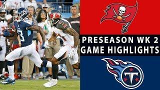 Download Buccaneers vs. Titans Highlights | NFL 2018 Preseason Week 2 Video