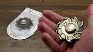 Download ОБЗОР: Металлический Спиннер Fidget Spinner серия ″Gorgone″ Video