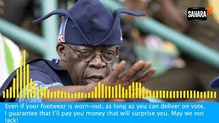 Download #NigeriaDecides: Tinubu Caught On Tape Promising To 'Pay Money That Will Surprise' Voters Video