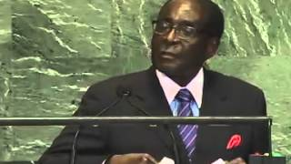 Download President Mugabe speech at the 67th UN General Assembly (sept. 2012) Video