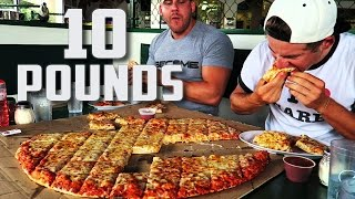 Download 10+ POUND PIZZA CHALLENGE | Ft. RZFITNESS Video