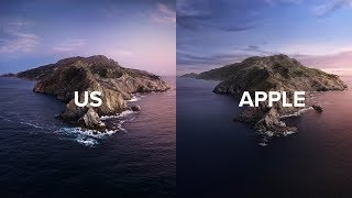 Download We Recreated the Latest Apple Wallpaper: macOS Catalina Video