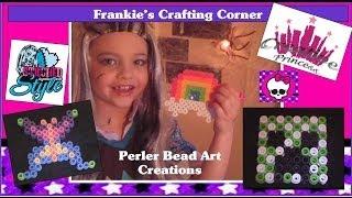 Download Monster High | Frankie's Crafting Corner - Perler Bead Art Creations | Creative Princess Video