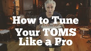 Download How To Tune Your Toms Like a Pro   Easy Drum Tuning Part 2 of 3 Video