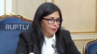 Download Russia: Moscow will look to prevent military intervention in Venezuela - Fed. Council head Video