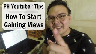 Download Filipino Youtuber Tips: How I got from 0 to 5000 Views per day on Youtube Beginners 2017 Tagalog Video