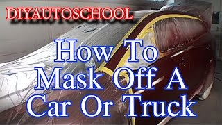 Download How To Tape And Mask A Car Or Truck For Paint-Automotive Tech Tips And Tricks Video