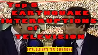 Download Top 5 Earthquake Interruptions of Television Video