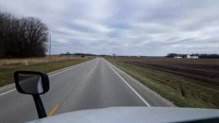 Download Bigrigtravels Live! - Astoria to McLean On The Illinois Backroads - December 8, 2016 Video