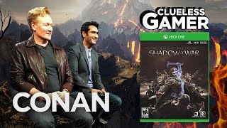 Download Clueless Gamer: ″Shadow Of War″ With Kumail Nanjiani - CONAN on TBS Video