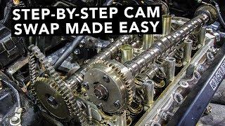 Download How To Swap Honda K20 K24 K-Series Camshafts Video
