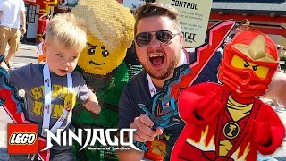 Download LEGOLAND FLORIDA NINJAGO WORLD CHARACTER MEETING! Video