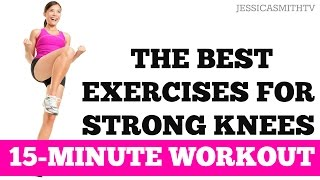 Download The Best Leg Exercises for Knee Strength and Stability | 15-Minute Strong Knees Workout Video