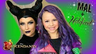 Download Disney's Descendants - Mal & Maleficent Costume Transformation! (Part 2) Video