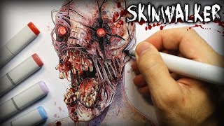 Download ″Skinwalker″ (The Rake) Horror Story - Creepypasta + Drawing Video