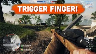Download TRIGGER FINGER! - Battlefield 1 | Road to Max Rank #26 (Multiplayer Gameplay) Video