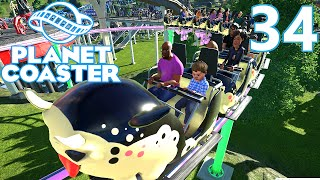 Download Planet Coaster ALPHA - Part 34 - Riding All My Coasters! Video