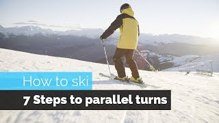 Download HOW TO SKI | 7 STEPS TO PARALLEL TURNS Video