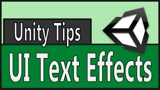 Download Unity Tip: UI Text Effects Video