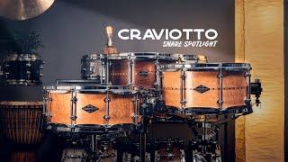Download Snare Spotlight: Craviotto Steam Bent Snare Drums Video