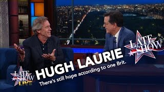 Download Hugh Laurie Tells Americans What They Should Really Be Worried About Video