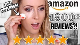 Download I Tried 5 STAR 100+ REVIEWED Makeup from AMAZON || Full Day Wear Test Video