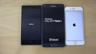 Download Windows 10 vs. Android 5.0 Lollipop vs. iOS 8.3 - Which Is Faster? (4K) Video