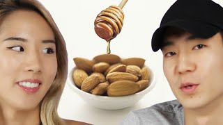 Download People Try Flavored Almonds Video