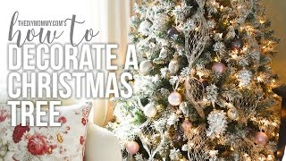 Download How to Decorate a Christmas Tree // CHRISTMAS DIY + DECOR CHALLENGE Video