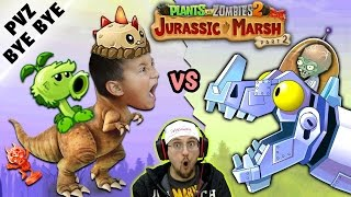 Download NO MORE PVZ 2! Mike vs. Jurassic Marsh Zomboss! Zombot Dinotronic Mechasaur (FGTEEV says Goodbye) Video