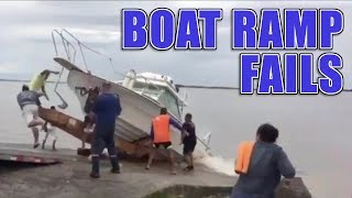 Download Funny Boat Ramp and Boat Launch Fails Video