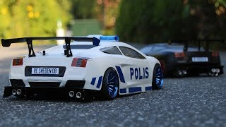 Download Lamborghini Police Chase 1 | RC Drifting Video
