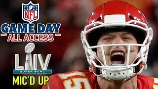 Download Super Bowl LIV Mic'd Up, ″I'm a BEAST down here... HIT ME!″ | Game Day All Access Video