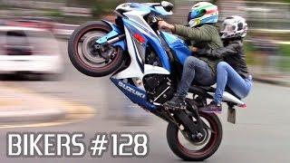 Download SUZUKI, BMW, HONDA & YAMAHA SUPERBIKES WHEELIES, BURNOUTS & more! - BIKERS #128 Video