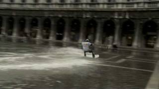 Download ″Aqua Alta Surfing″: St. Mark's Square On A Wakeboard Video