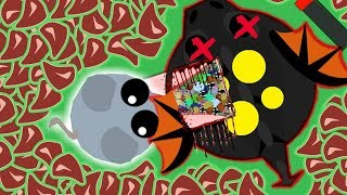 Download MOUSE KILLS BLACK DRAGON MOPE.IO! POWER OF *HACKS/MODS* BLACK DRAGON CLOAKED MOPE (Mope.io Gameplay) Video