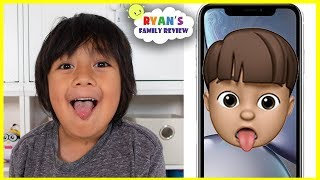 Download NEW Memoji iPhone Custom Animoji of yourself with Ryan's Family Review!!! Video