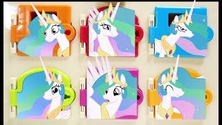 Download Princess Celestia EPIC Trapped Doors Matching Colors and Surprises Video