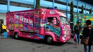 Download Modifikasi Truk Canter Anime Konsep Gril Scania (Kontes Truk Jogja) Video