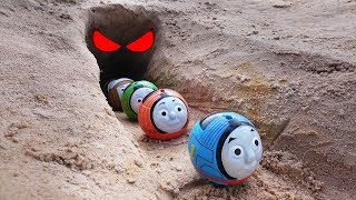 Download Thomas and Friends Toy Trains There is a ghost in the cave! Video
