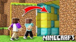 Download WE BUILT A SECRET BASE! Denis vs Alex! (The Pals Minecraft) Video